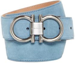 Light Blue Salvatore Ferragamo Belt Worn By Gucci Mane