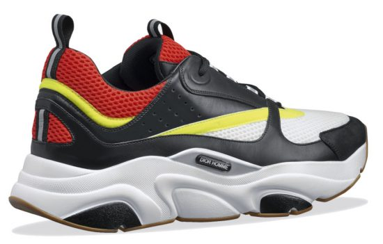 Lil Baby Drip Too Hard Dior Black Red Yellow Sneakers Back