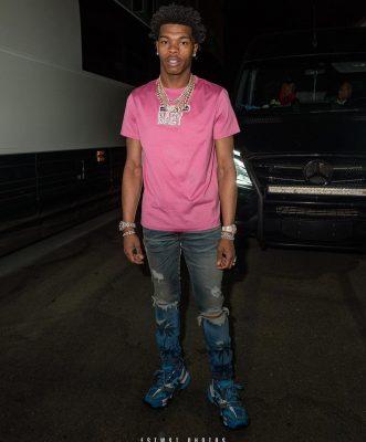 Balenciaga Blue \u0026 Pink 'Track' Sneakers