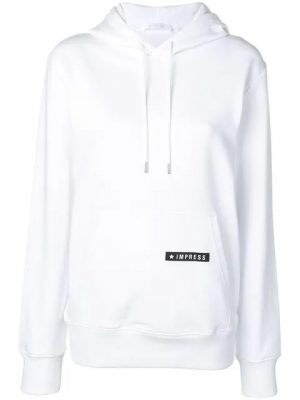 Lil Durk White Impress Hoodie Instagram Post