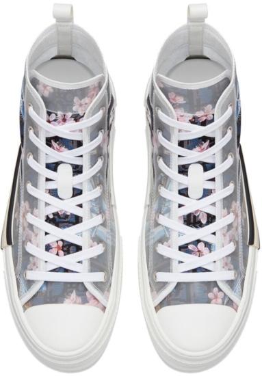 Lil Uzi Vert Dinosaur Print Sneakers