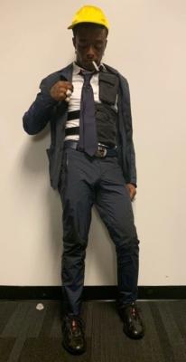 Lil Uzi Vert Wearing An All Prade Outfit