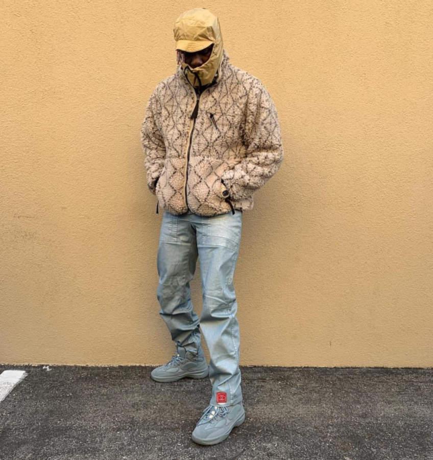 Lil Yachty Posting Up In A Kapital Sherpa Fleece Alyx