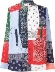 Loewe Multicolor Bandana Patchwork Shirt