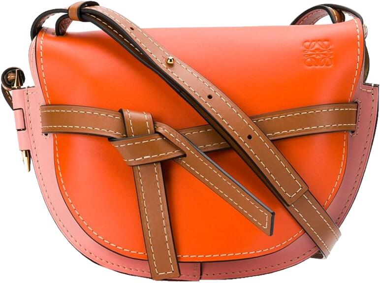 Loewe Orange Gate Shoulder Bag