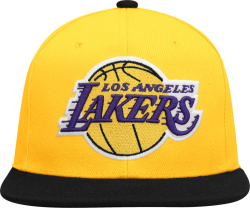 Los Angeles Lakers Yellow And Black Snap Back