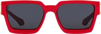 Louis Vuitton 1.1 Red Sunglasses Ss19