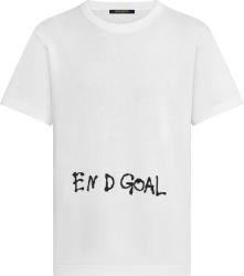 White 'End Goal' T-Shirt
