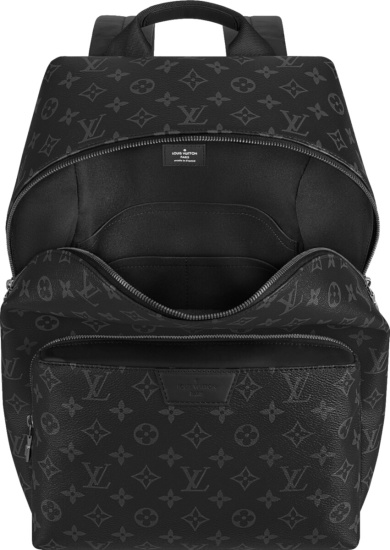 Louis Vuitton Black Eclipse 'discovery' Backpack