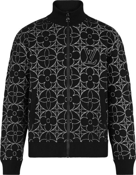 Louis Vuitton Black And White Monogram Track 1a8h5r