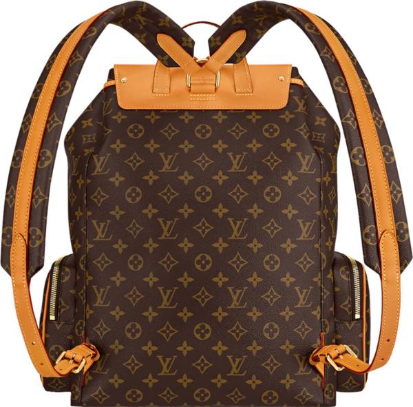 Louis Vuitton Brown Monogram Trio Backpack