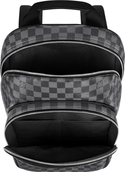 Louis Vuitton Damier Graphite Canvas Backpack