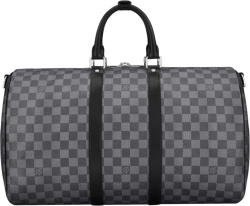 Louis Vuitton Grey Damier Keepall 45 Duffle Bag N41418