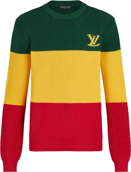 Louis Vuitton Jamaican Stripe Sweater 1a8ozq