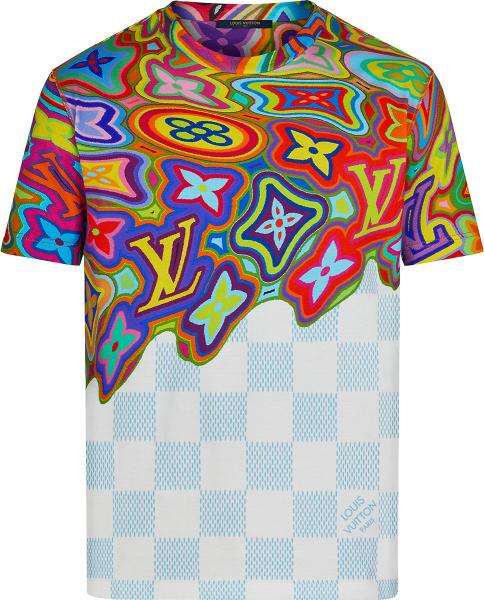 Louis Vuitton Multicolor Psychedelic Monogram T Shirt 1a8p14