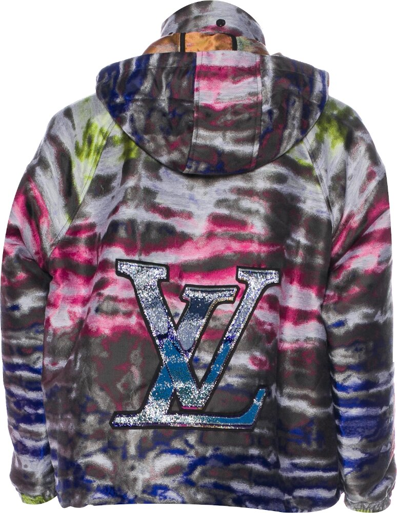 Louis Vuitton Patch Graphic Windbreaker