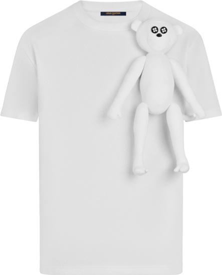 Louis Vuitton White Monkey Puppet T Shirt 1a8p0q
