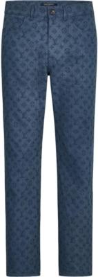 Louis Vuitton Allover Monogram Jeans