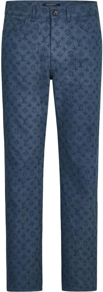 Louis Vuitton Allover Monogram Jeans