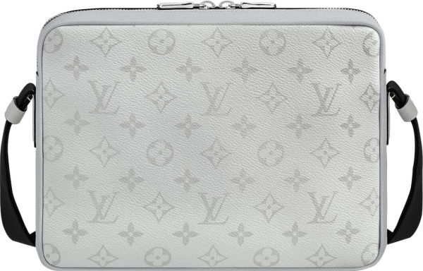 Louis Vuitton Antartica Taigarama Leather Outdoor Messenger Bag