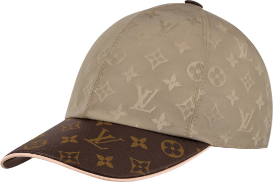 Louis Vuitton Beige And Brown Cap Ou Pas Hat M76504
