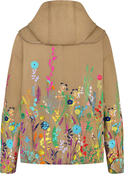 Louis Vuitton Beige Beekeeper Jacket