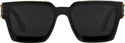 Louis Vuitton Black 1.1 Millionaires Sunglasses