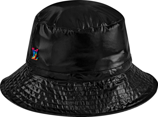 Louis Vuitton Black 2054 Packable Bucket Hat