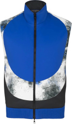Black & Blue Mix Reversible Vest