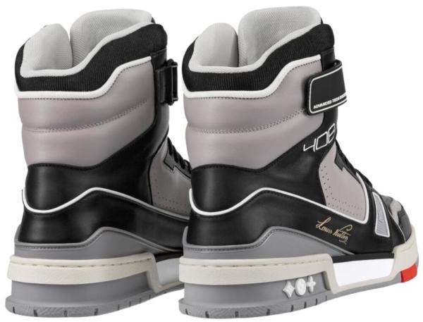 Louis Vuitton Black And Grey Boots Worn By Lil Uzi Vert