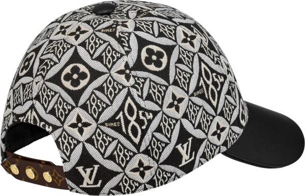 Louis Vuitton Black Ans White Since 1854 Hat