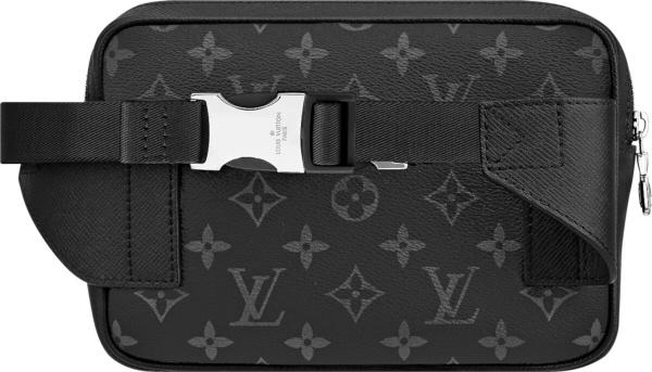 Louis Vuitton Black Eclipse Bumbag