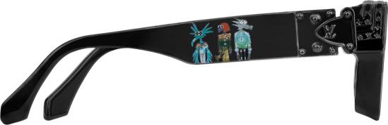 Louis Vuitton Black Friends 1 1 Millionaires Sunglasses