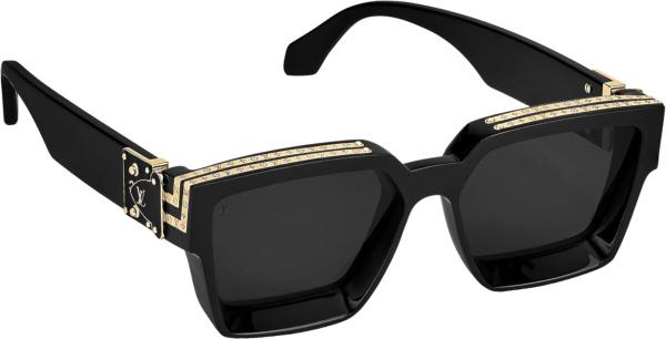 Louis Vuitton Black Gold 1 1 Millionaires Sunglasses Z1165w