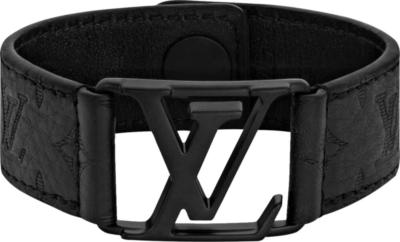 Louis Vuitton Black Hockenheim Bracelet