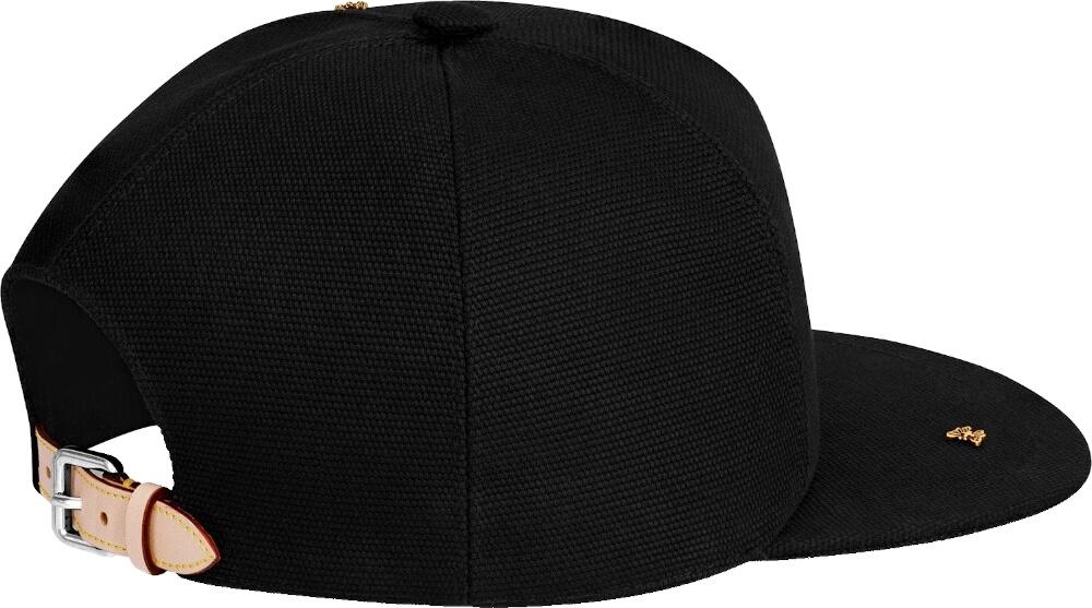 Louis Vuitton Black Knit Baseball Hat