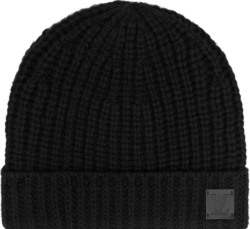 Louis Vuitton Black Knitted Hat