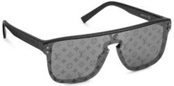 Louis Vuitton Black Logo Lens Sunglasses