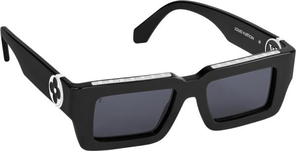 Louis Vuitton Black Lv Classic Sunglasses