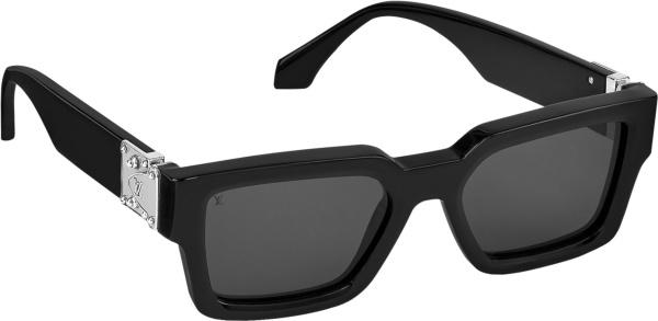Louis Vuitton Black Lv Match Sunglasses