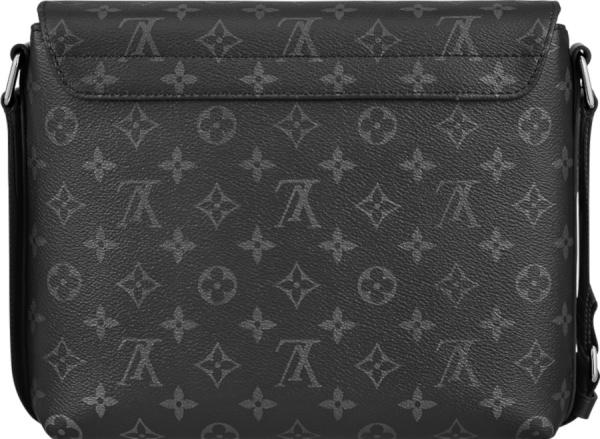 Louis Vuitton Black Monogram District Messenger Bag