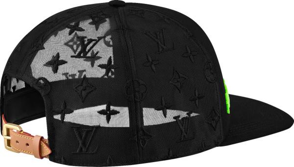 Louis Vuitton Black Monogram Tourist Vs Purist Trucker Hat