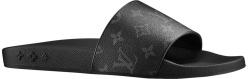 Louis Vuitton Black Monogram Waterfront Mule 1a3prw