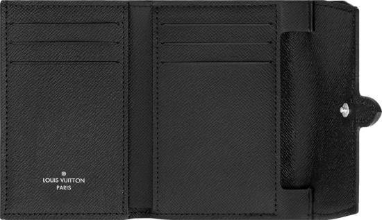 Louis Vuitton Black Pastel Monogram Cross Card Holder