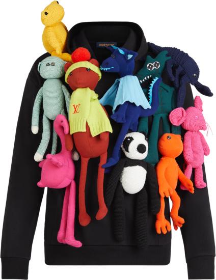 Louis Vuitton Black Puppet Hoodie 1a8pg5