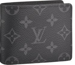 Louis Vuitton Black Slender Wallet