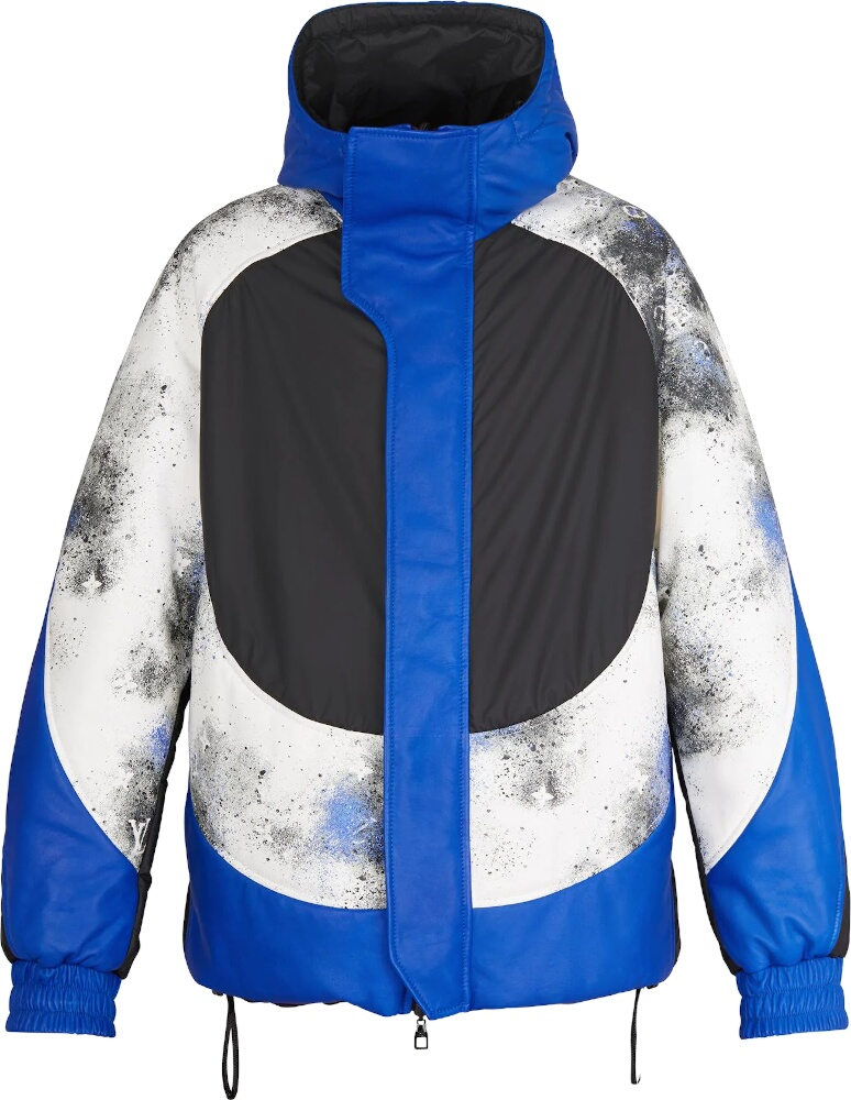 Black & Blue Mix Reversible Jacket