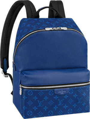 Louis Vuitton Blue Discovery Pm Backpack