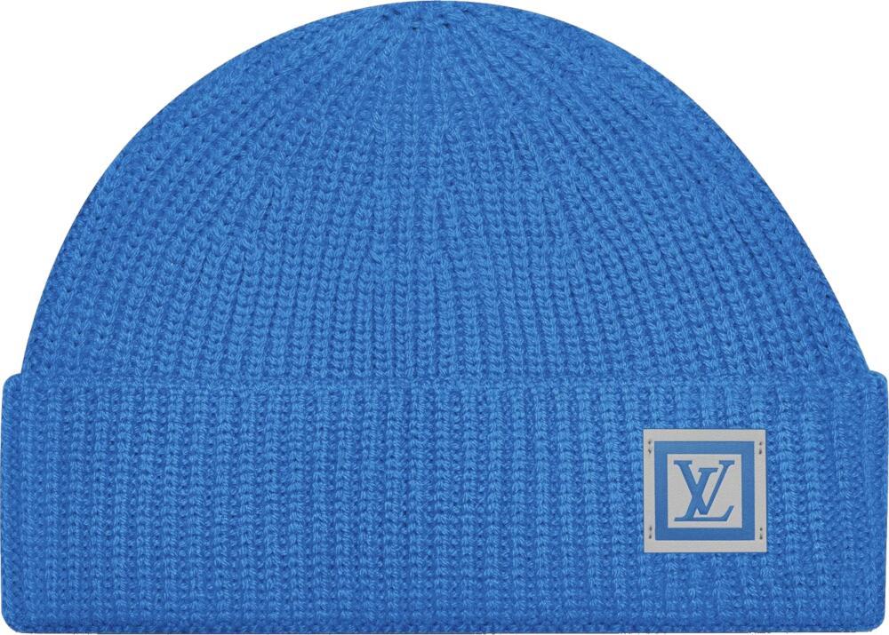 Louis Vuitton Blue Knit Beanie