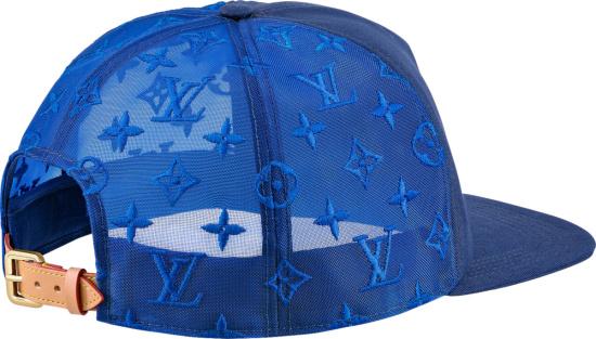 Louis Vuitton Blue Monogram Everyday Trucker Hat